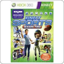 Kinect Sports Season Two - Xbox 360 - Original Novo Lacrado