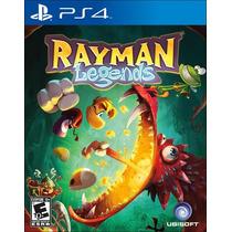 Rayman Legends 100% Em Portugues Mídia Física Ps4
