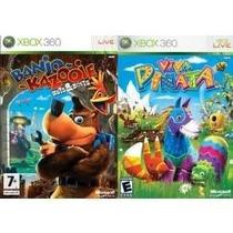 Xbox360 - Banjo Kazooie E Viva Piñata - Lacrado!!