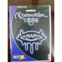 Antigo Game Pc Cd-rom Neverwinter Nights