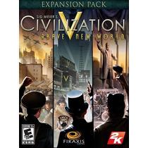 Sid Meiers Civilization V: Brave New World Pc Mac Original