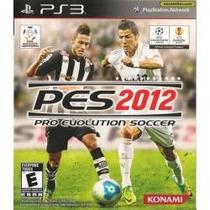 Pro Evolution Soccer 2012 - Pes 2012 Jogo Ps3 Em Disco