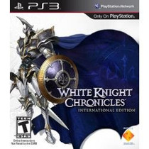 Jogo Semi Novo White Knight Chronicles International Ps3