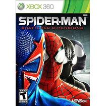Jogo Spider-man Shattered Dimensions Ntsc Original Xbox 360