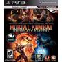 Ps3 - Mortal Kombat Komplete Edition - Midia Fisica - Novo L