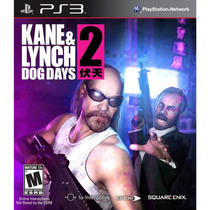 Kane & Lynch 2 Dog Days Ps3 Jogo Novo Lacrado Original