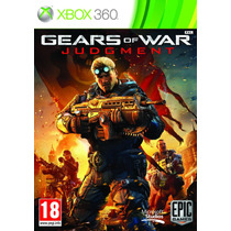 Jogo Novo Gears Of War 4 Judgment Todo Em Português Xbox 360
