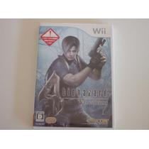 Nintendo Wii Japonês: Resident Evil 4 Completo Japan Jp