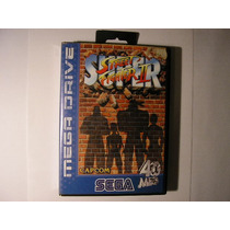 Fita Mega Drive Super Street Fighter 2 Original Europeu Perf