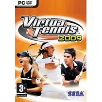 Pc Virtua Tennis 2009 - Original - Lacrado - Novo