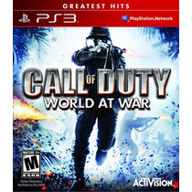 Call Of Duty 5: World At War - Ps3 (lacrado)