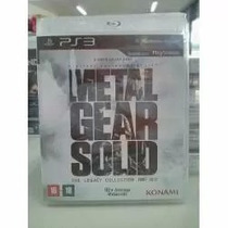 Metal Gear Solid The Legacy Mídia Fisica/ps3/frete Gratis