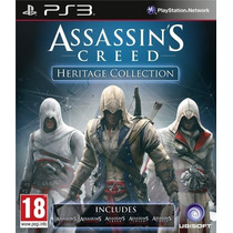 Jogos Assassins Creed Heritage Collection Ps3 Frete Grátis
