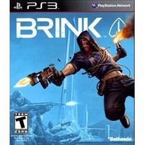 Jogo Brink Playstation 3 Ps3 Pronta Entrega Lacrado Novo