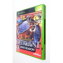 Cabelas Deer Hunt 2005 Original Para X-box Classic E 360+hd