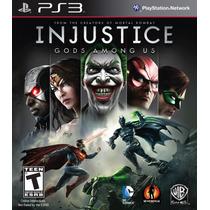Injustice Gods Among Us - Ps3 - Dublado Pt Br Original