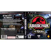 Jurassic Park The Game Psn Ps3 Midia Digital Original