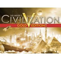 Sid Meiers Civilization V Gold Edition Original
