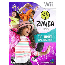 Zumba Kids - Wii Original Novo & Lacrado!