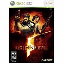 Residente Evil 5 Xbox Original Mega Promoção Apenas 10 Peças