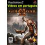 Patch God Of War 1 + God Of W 2 Portug. Ps2 (deus Da Guerra)