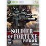 Jogo Lacrado Soldier Of Fortune Payback Para Xbox 360