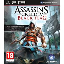 Assassins Creed Iv Portugues + Dlc , Ps3 - Codigo Psn !!!!!!