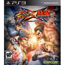 Jogo Ps3 - Game Original - Street Fighter Vs Tekken