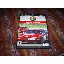 Jogos Originais Ps2 - Alfa Romeo Racing