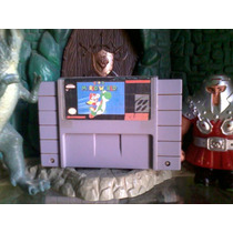 Cartucho Super Nintendo Super Mario World Aventura