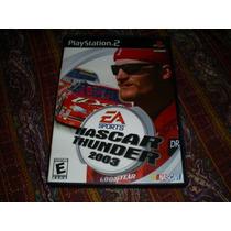 Jogos Originais Ps2 - Nascar Thunder 2003 Sem Book