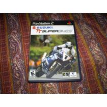 Jogos Originais Ps2 - Suzuki Tt Superbikes