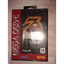 Mortal Kombat 3 Original Mega Drive Na Caixa Sem Manual