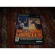 Jogos Originais Ps2 - Cabellas Big Game Hunter