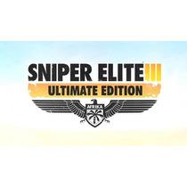 Sniper Elite 3 Ultimate Edition Ps3 Codigo Psn Midia Digital
