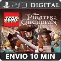 Lego Piratas Do Caribe Ps3 Psn Jogo Digital Envio Em 10 Min