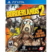 Jogo Novo Lacrado Borderlands 2 Para Ps Vita
