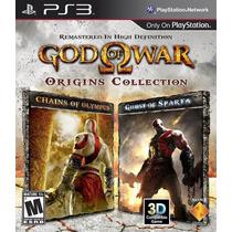 Jogo Ps3 God Of War Origins Collection Original E Lacrado
