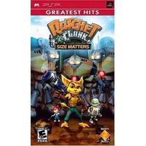 Jogo Ratchet E Clank Size Matters Greatest Hits Psp Original