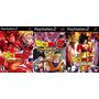 Dragon Ball Z Budokai Collection Para Ps2 Frete Gratis !!!