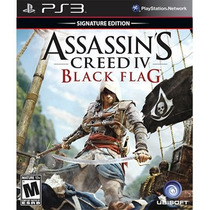 Assassins Creed Black Flag 4 Em Portugues Ps3 Codigo - Psn