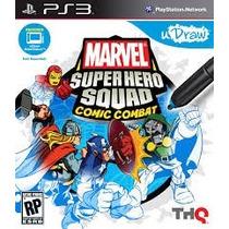 Udraw Marvel Super Hero Squad Comic Combat - Ps3