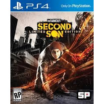 Infamous Second Son Limited Edition - Ps4 6 Dlcs Secundária