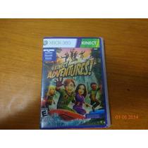 Jogo Xbox Kinect Adventures Original Envio Carta Registrada