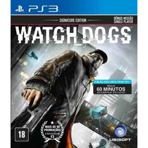 Watch Dogs Ps3 - Semi Novo Totalmente Em Português Brasil
