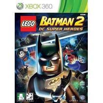 Lego Batman 2 - Xbox 360 - Original Lacrado