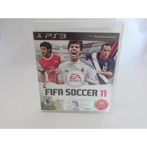 Fifa Soccer 11 - Ps3 - Midia Física - Semi Novo