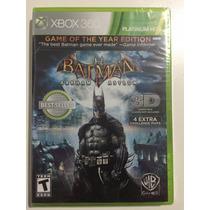 Batman Arkham Asylum Em 3d Novo Original - Jogo Xbox 360