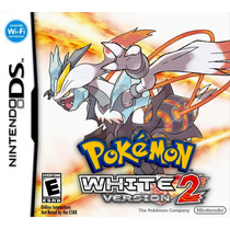 Pokemon White Version 2 + Black 2 - Ds / 3ds - Impecável !!!