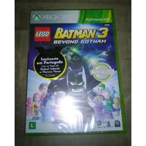 Xbox 360 Lego Batman 3 Beyond Gotham (mídia Física)(lacrado)